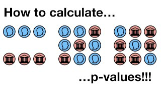 How to calculate p-values