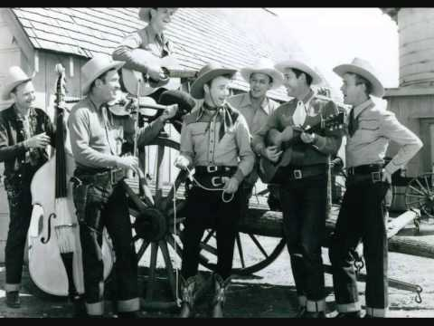 Roy Rogers & Sons Of The Pioneers  Tumbling Tumbleweeds