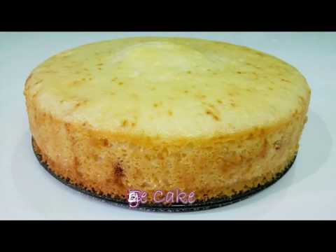 No Oven Egg & Eggless Cake Recipes || Basic Sponge cake