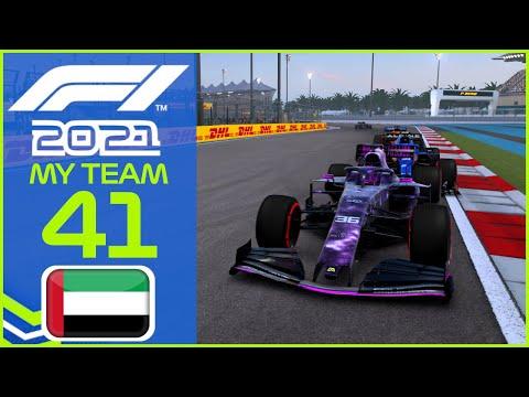 F1 2021 MyTeam KARRIERE #41: Mit Speziallackierung zum Saisonfinale!