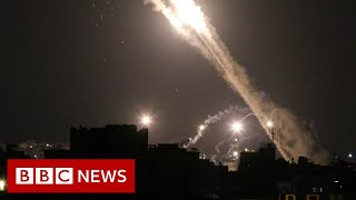 Israel-Gaza: Planes diverted amid rocket threat - BBC News