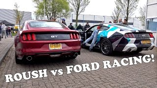Ford Mustang GT Roush vs Ford Racing Exhaust! REVS!