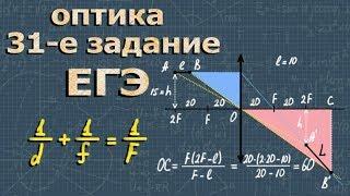 ОПТИКА ЕГЭ физика ПОДГОТОВКА и разбор заданий