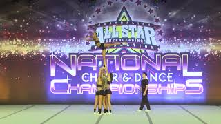 Bullets Allstars Cheerleading 2016 - Snr Level 3 Group Stunt