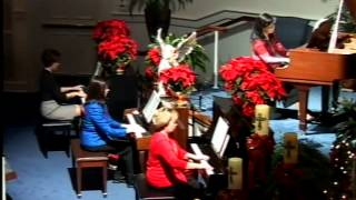 The Bells of Christmas Piano Quartet-Mount Home Baptist Church