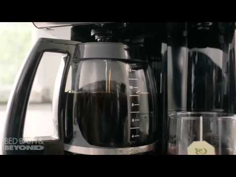 Cuisinart Coffee Plus 12 Cup Coffeemaker With Hot Water At Bed Bath Beyond
