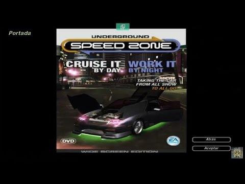 Need For Speed Underground 2 Portada Speed Zone Underground