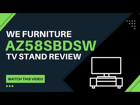 WE Furniture AZ58SBDSW TV Stand Review