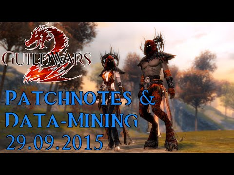 Guild Wars 2 News: Data-Mining & Update-Notes zum Spiel - 29. September 2015