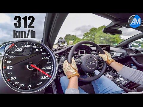 Audi RS6 Performance (605hp) - 0-312 Km/h Acceleration!
