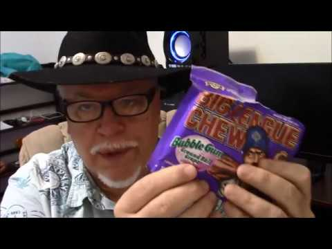 ASMR, Oregon Travel book, and Big League Chew gum