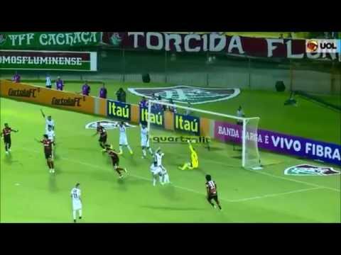 Gols - fluminense 1 x 2 flamengo - 13/10/2016 - brasileirao