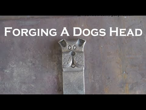Forging a Dogs Head