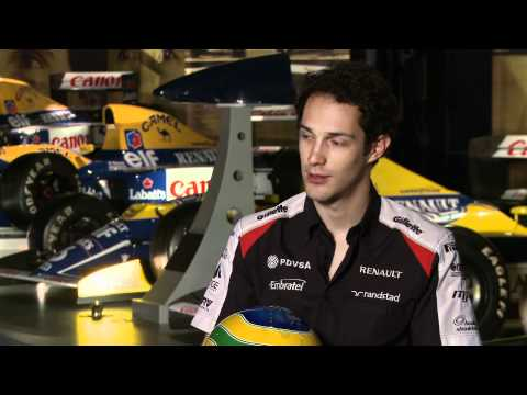 F1 2012 - Williams Renault - Interview with Bruno Senna & Frank Williams