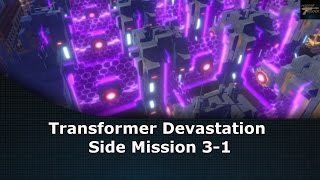 Transformers Devastation Side Mission 3-1