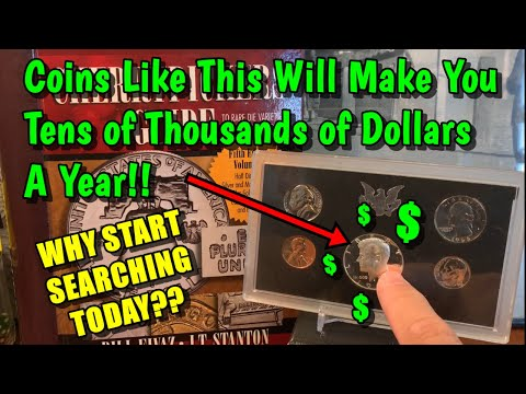 BINGO! - Earn Six Figures A Year By Searching US Mint Sets! - Is It Possible??
