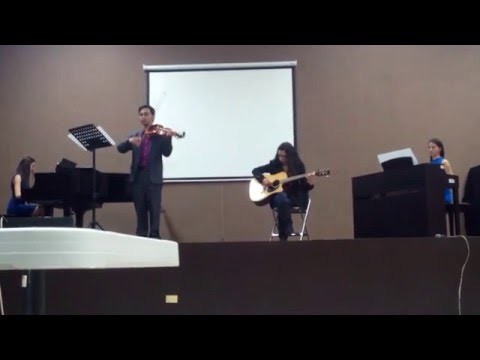 Ludovico Einaudi  Experience Arrangement for piano, guitar & violin