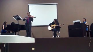 Ludovico Einaudi - Experience Arrangement for piano, guitar & violin