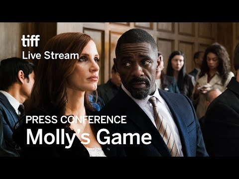 MOLLY'S GAME Press Conference | Festival 2017