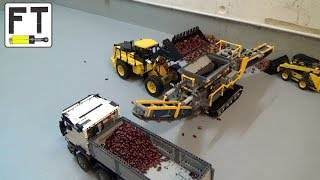 LEGO Technic Construction Site - MOCs in action