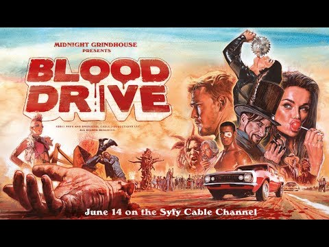 Blood Drive Mid(ish) Season TV Show Review.