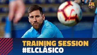 Barça fine-tuning their aim for El Clásico against Real Madrid