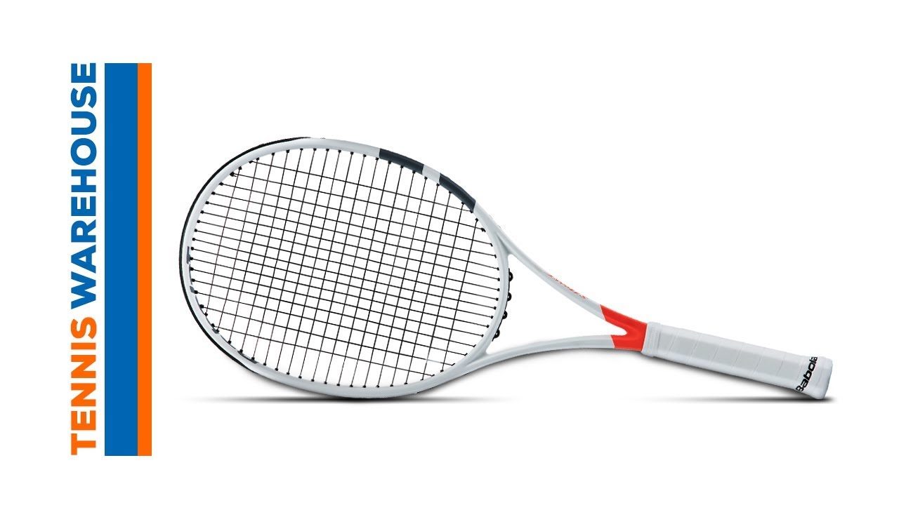 7f9d143eb Babolat Pure Strike 100 Racquet Review - YouTube