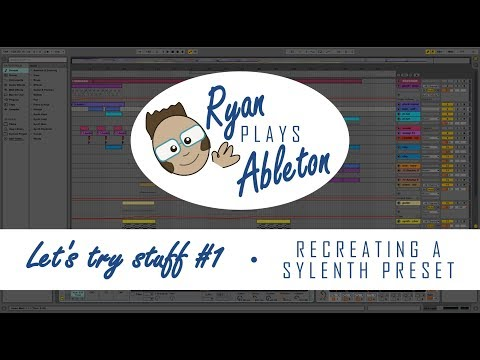 Let's try stuff #1 - How to create a Sylenth sound using only built-in Ableton devices