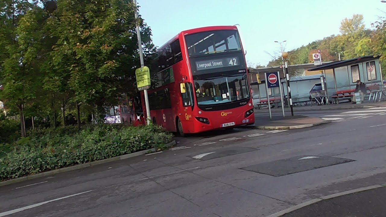 42 Full London Bus Route: East Dulwich. Sainsbury's - Liverpool Street Go Ahead Part 2 - YouTube