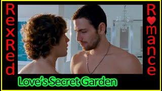 Enjoys romantic in garden Pretty the teen sex