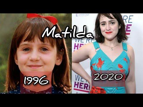 Así lucen los personajes  de Matilda 2020😲