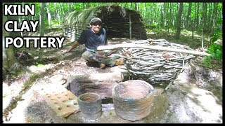 Primitive Kiln Clay and Pottery Bushcraft Experiments
