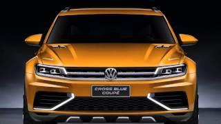 Volkswagen CrossBlue Coupe Concept 2013 Videos