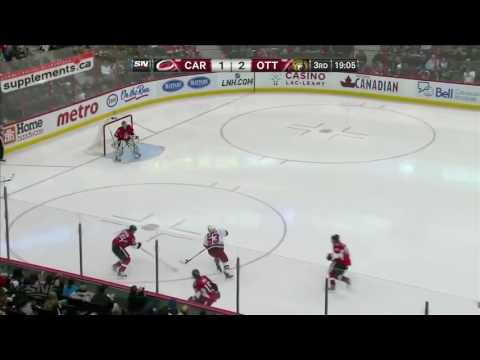 Erik Karlsson - defensive plays!