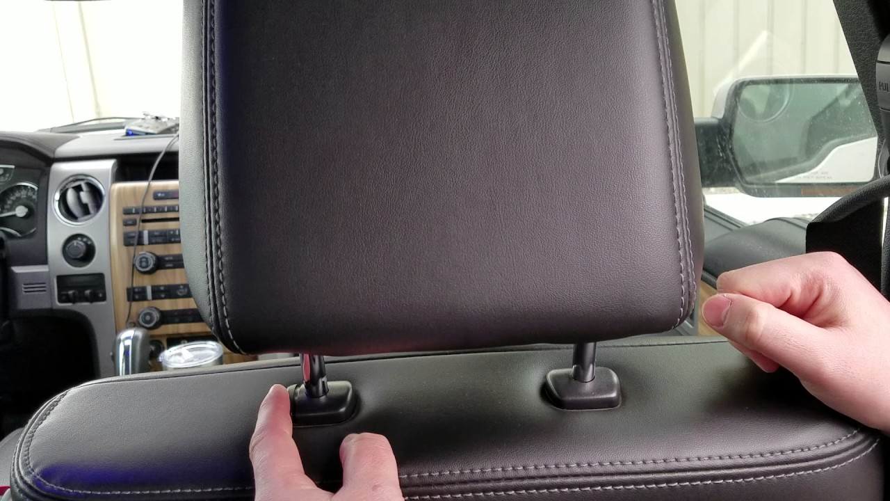 How To Remove Ford F150 Headrests Youtube