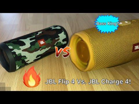 JBL Flip 4 Vs. JBL Charge 4 Sound Comparison! Little Surprising...