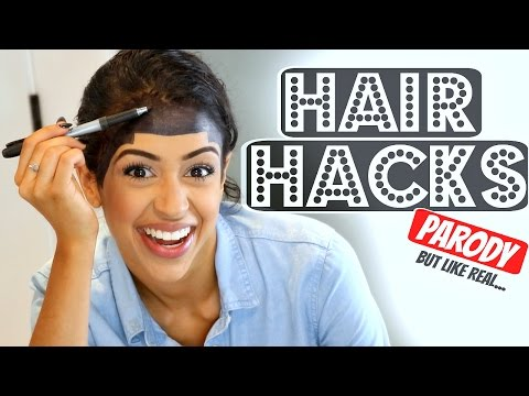 Thumbnail: WORLD'S BEST HAIR HACKS!