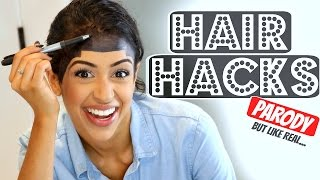 Download WORLD'S BEST HAIR HACKS! Mp3 and Videos