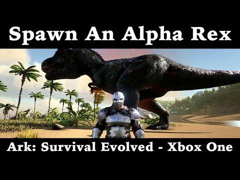 Spawn An Alpha Rex - Ark: Survival Evolved - Xbox One
