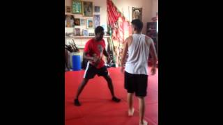 Collin Richards - Grappling (sparring )