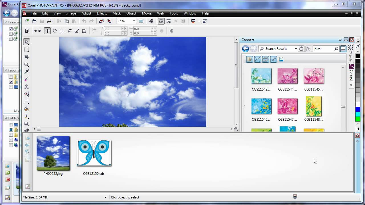 en 11 learning the basics corel connect coreldraw graphics