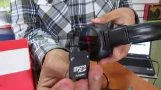 Audifonos Con Mp3  Inalambricos Radio Fm  Marca CAFINI