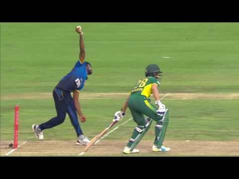 Proteas vs Sri Lanka - 5th ODI - Hashim Amla Wicket