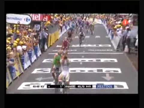 Mark Cavendish - Tour de France 2009 (wins 6 stages (sprints))