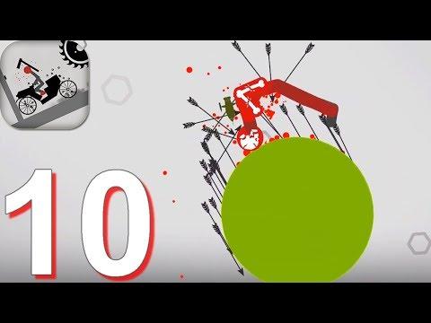 Stickman Falling Walkthrough Part 10 - Android Gameplay HD