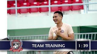 SuphanFC TV   Team Training   บรรยากาศการซ้อมของทีมสุพรรณบุรี เอฟซี 6/7/21