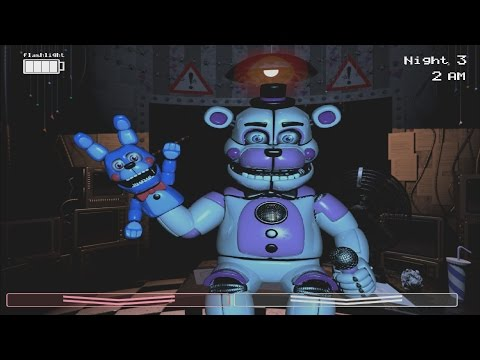 Funtime Freddy & Bon-Bon in FNaF 2