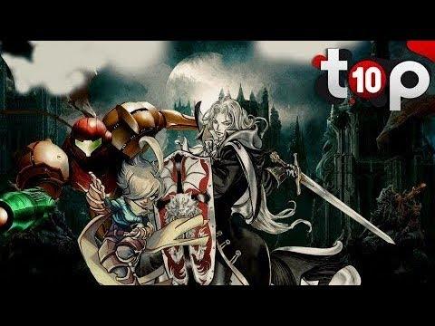 TOP 10 des meilleurs jeux Metroidvania