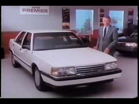 1988 Eagle Premier Dealer Promo Comparison Commercial