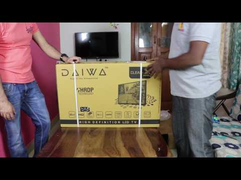 Daiwa D32C3BT 80 cm (32) HD Ready LED Television with Bluetooth Review